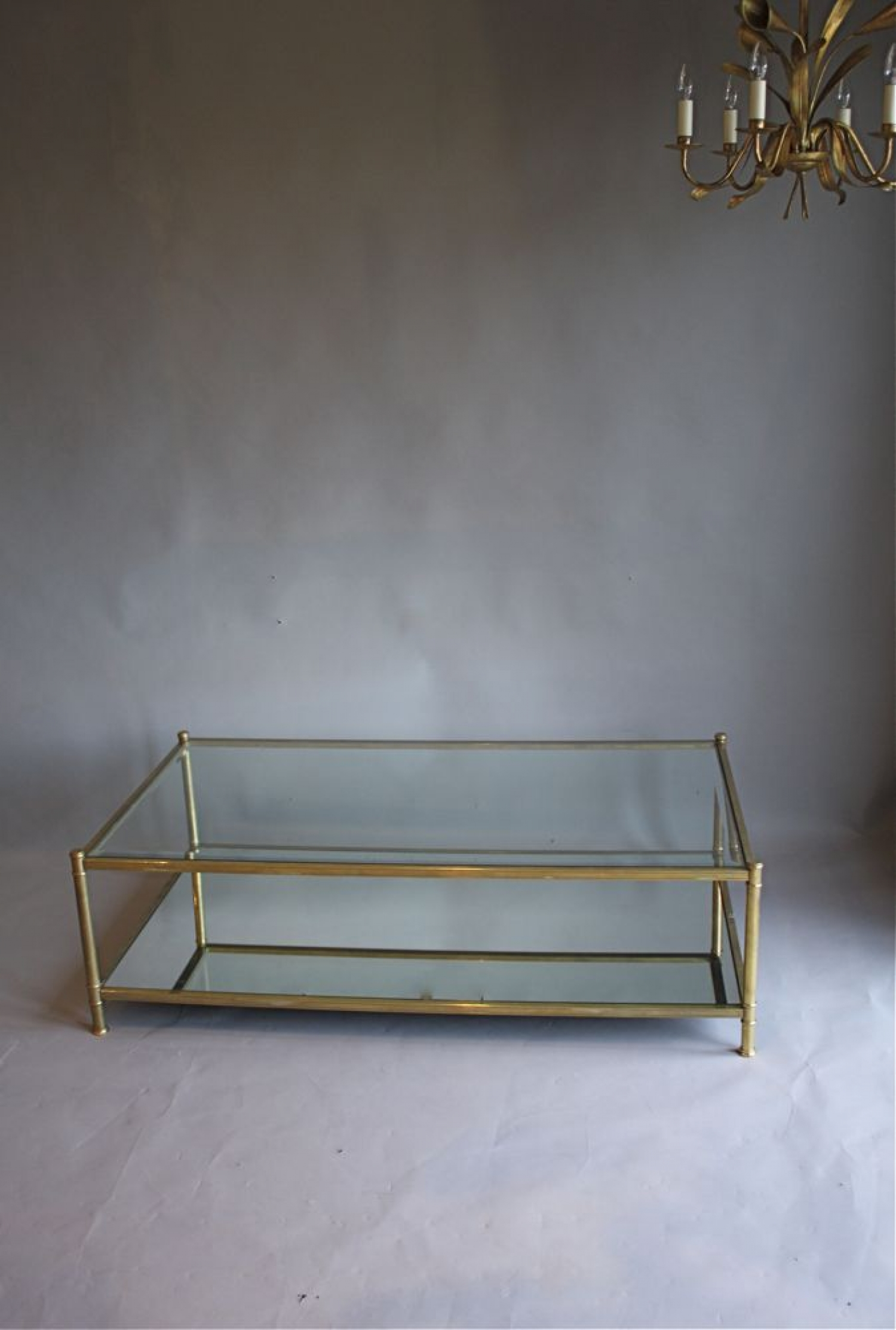 Antique Brass And Glass Coffee Table Uk Glass Decorating Ideas
