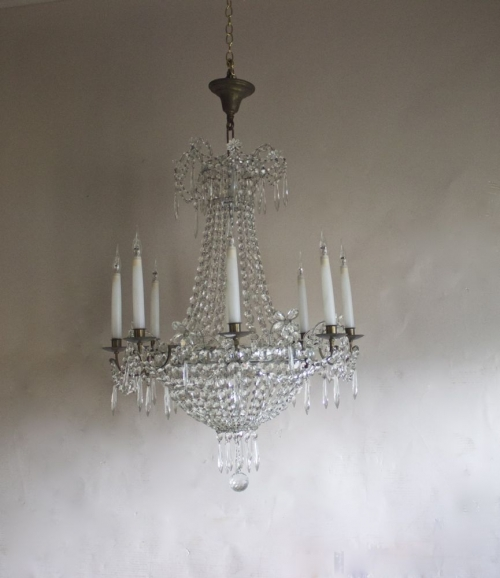 A trio of Antique Chandeliers now on our new arrivals page - Main image