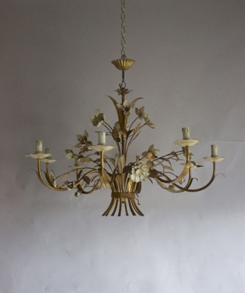 A trio of Antique Chandeliers now on our new arrivals page - image 2