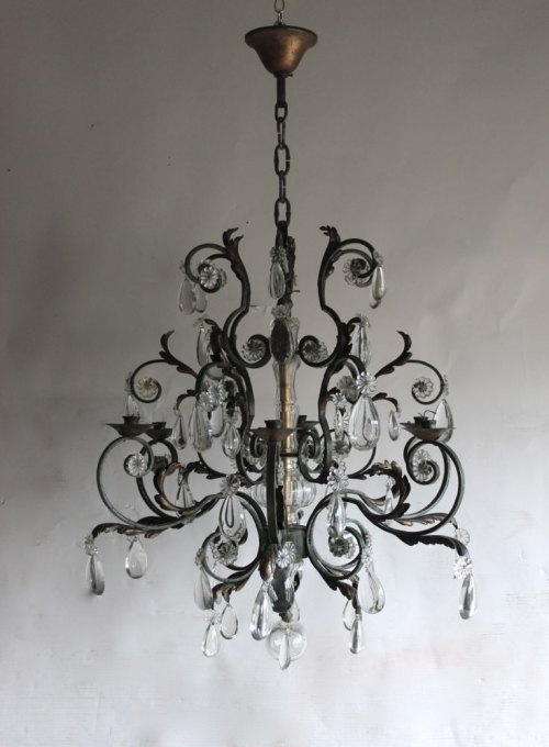 A trio of Antique Chandeliers now on our new arrivals page - image 3
