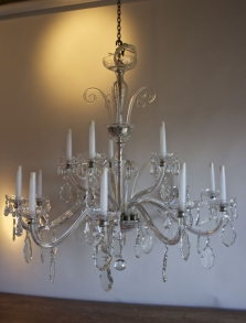 Antique Chandeliers - 80-100 cms wide