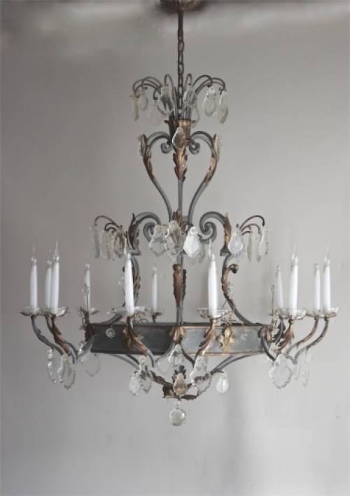 Antique Chandeliers - 80-100 cms wide - image 2