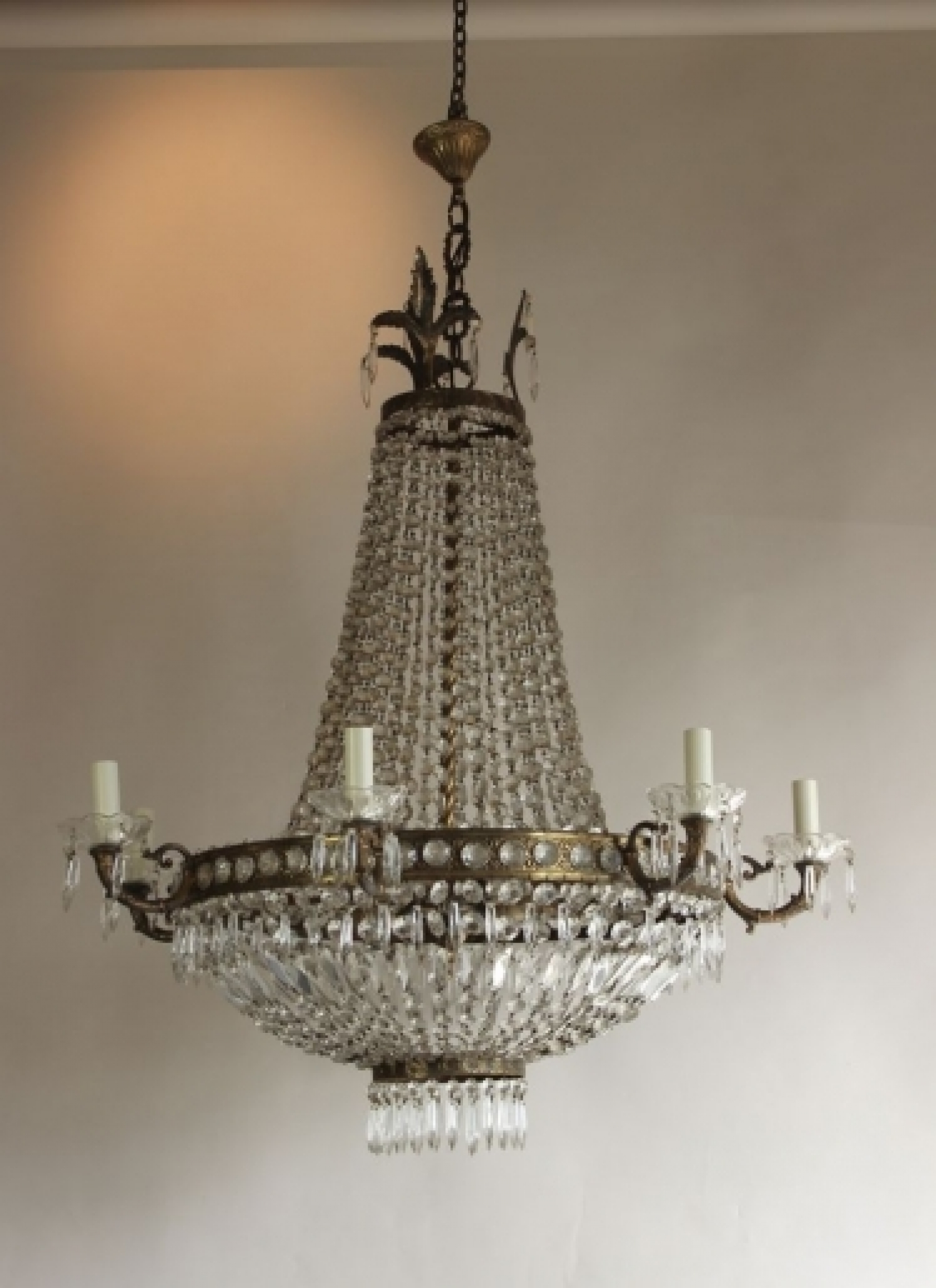 Antique chandeliers 80 100 cms wide norfolk decorative antiques antique chandeliers 80 100 cms wide image 3 mozeypictures Images