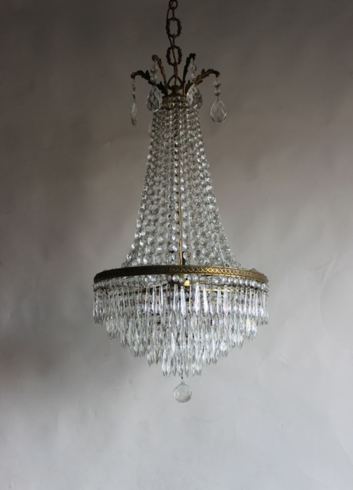 Antique Chandeliers added to the website today - Main image