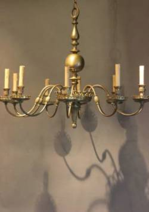 Antique Chandeliers for low ceilings - Main image