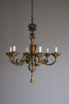 Antique chandeliers for spring and summer