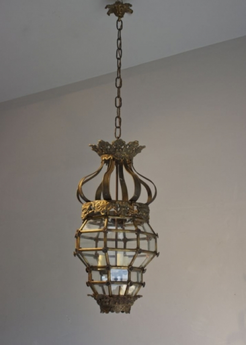 Antique Hall Lanterns  - Light up for Christmas - Main image