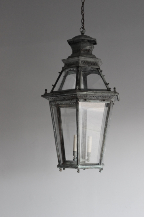 Antique Hall Lanterns  - Light up for Christmas - image 2