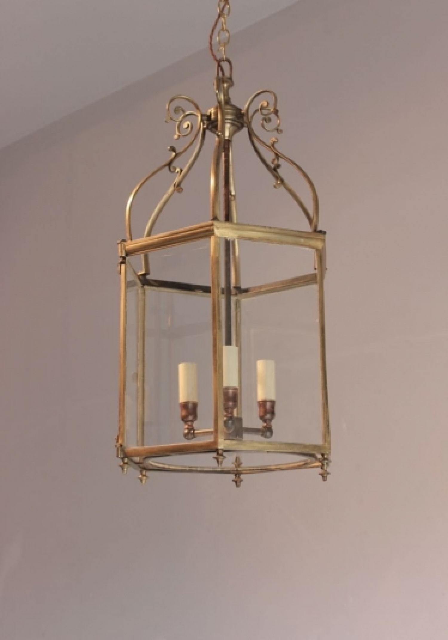 Antique Hall Lanterns  - Light up for Christmas - image 3
