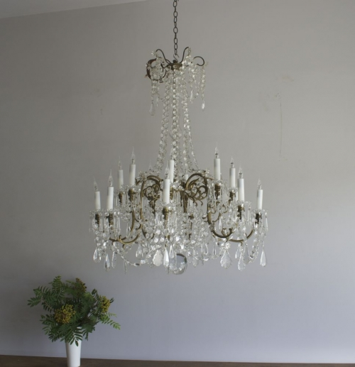 Antique lighting - new  antique chandeliers this week - Main image
