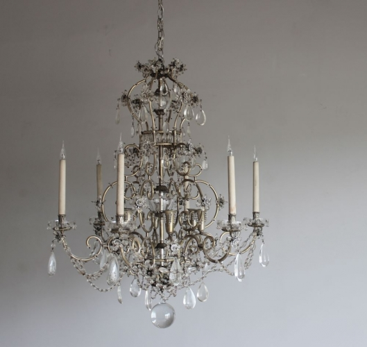 Antique lighting - new  antique chandeliers this week - image 2
