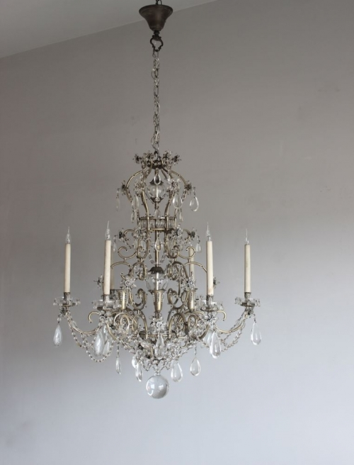 Antique lighting - new  antique chandeliers this week - image 3