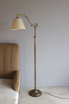 Antique lighting - reading and floor lamps for Christmas