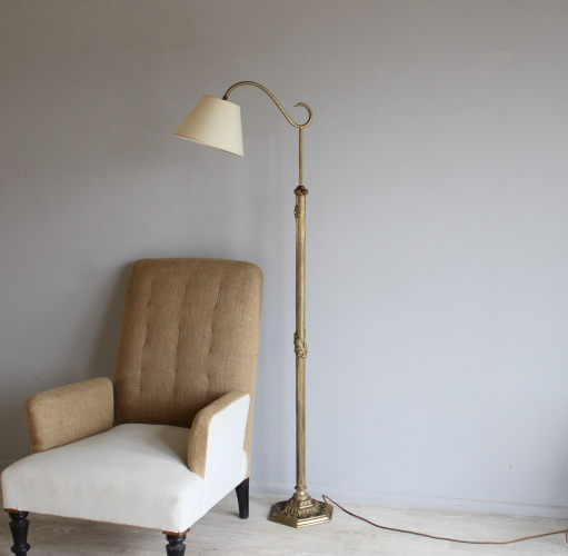 Antique lighting - reading and floor lamps for Christmas - Main image