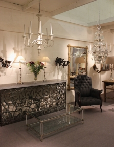 Antique Lighting and Chandelier showrooms are now finished