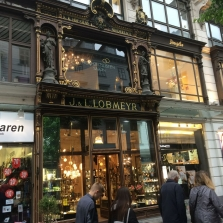 Antique Lighting at Lobmeyrs and the Palaces of Vienna