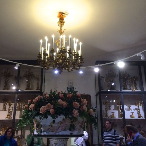 Antique Lighting at Lobmeyrs and the Palaces of Vienna - image 10