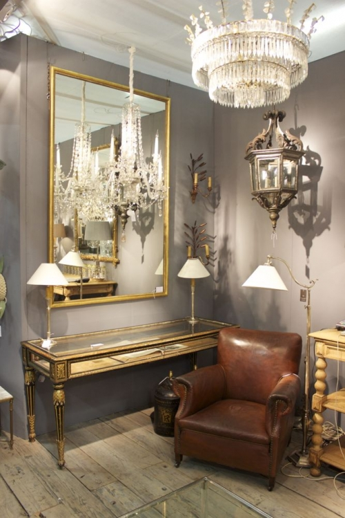Antique Lighting at the Decorative Fair - image 2