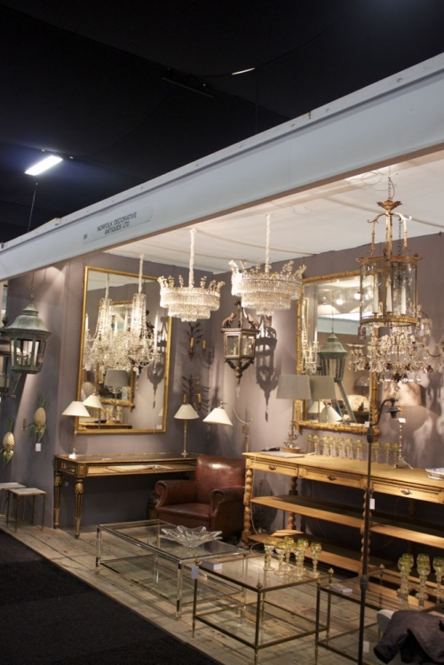 Antique Lighting at the Decorative Fair - image 3