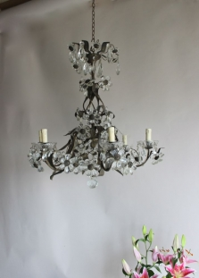 Antique lighting for bedrooms , chintz revival
