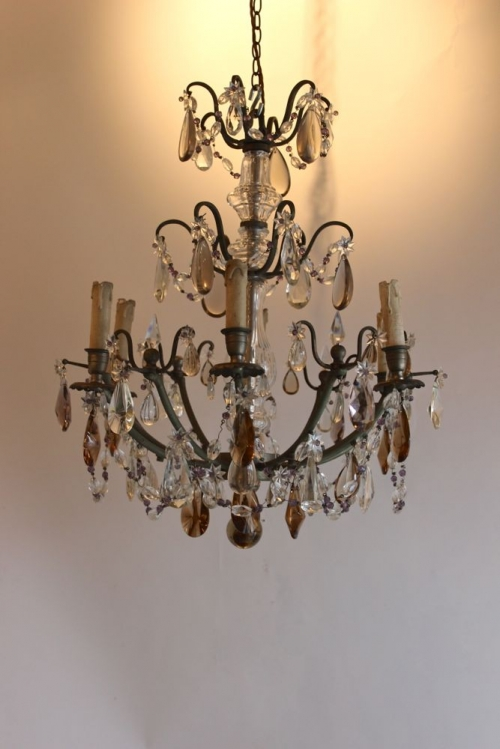 Antique lighting for bedrooms , chintz revival - image 3