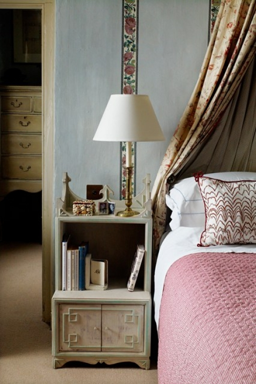 Antique lighting for bedrooms , chintz revival - image 6