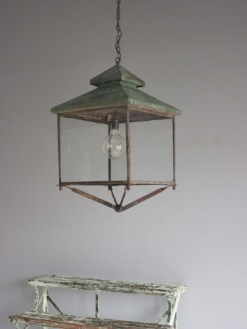 Antique Lighting with verdigris finish - Main image
