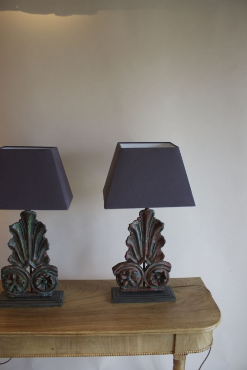 Antique Lighting with verdigris finish - image 2