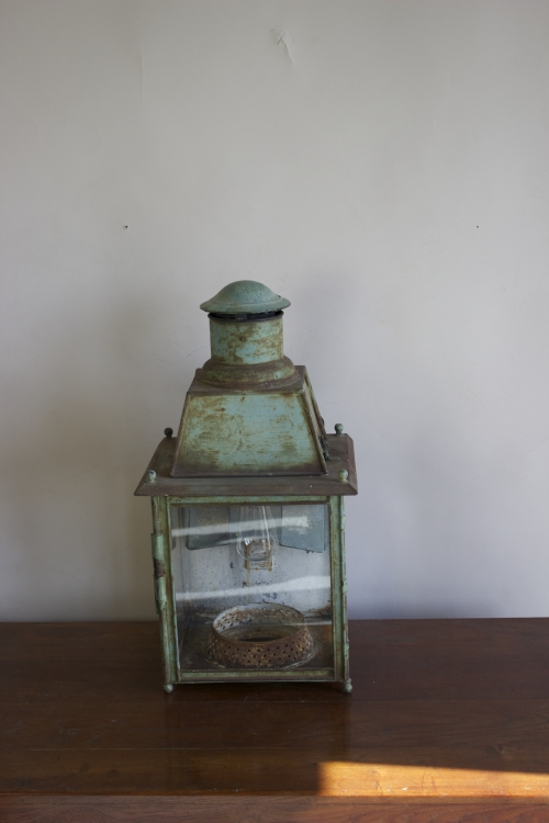 Antique Lighting with verdigris finish - image 4