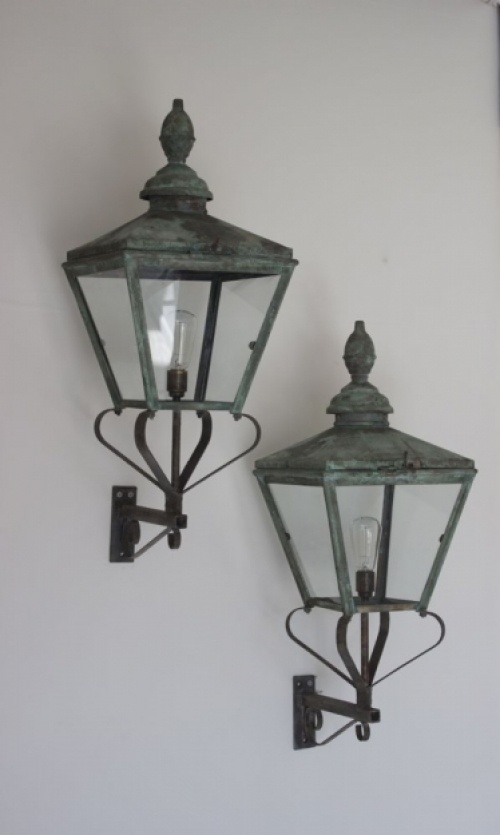 Antique Lighting with verdigris finish - image 6