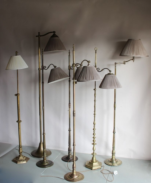 Antique reading lamps - Main image