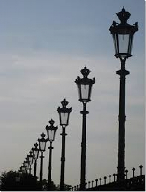 Antique street lighting - childhood memories - image 6
