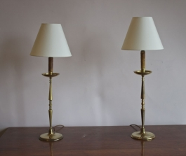 Antique table lamps - a big part of our antique ligting rang...
