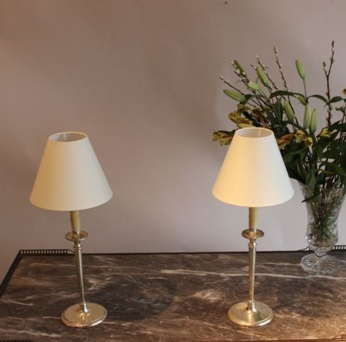 Antique table lamps - a big part of our antique ligting range - image 2
