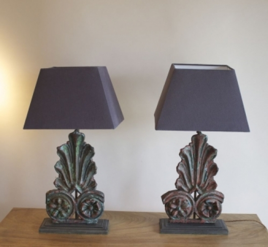 Antique table lamps - a big part of our antique ligting range - image 3