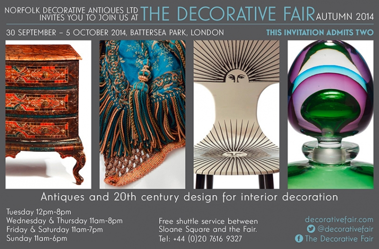 Autumn Decorative Fair 30th Sept - 5th October - Main image