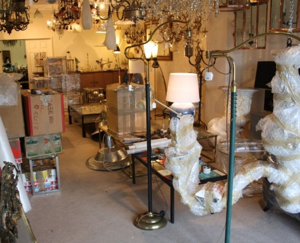 BATTERSEA DECORATIVE FAIR - preparations - image 5