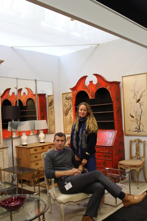 DC friends and colleagues at the Decorative fair - image 3