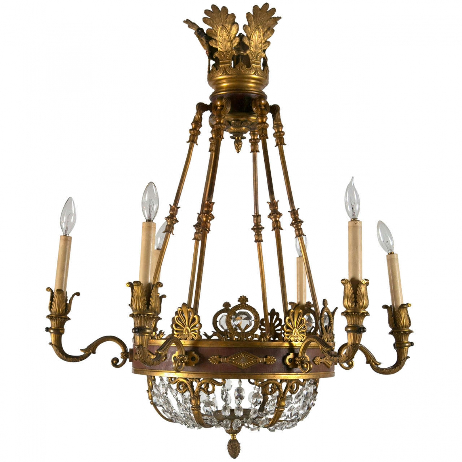 Empire Antique Chandelier revival - image 3 - Empire Antique Chandelier Revival - Norfolk Decorative Antiques