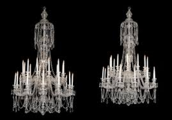 Fabulous antique chandeliers - image 2