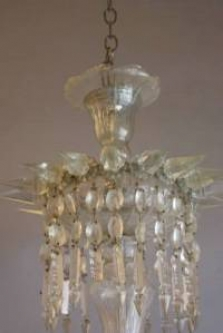 GLASS CHANDELIERS FOR LIGHTER BRIGHER MOMENTS