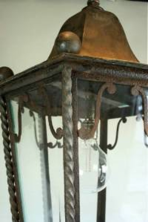 Huge Antique Lantern - image 2
