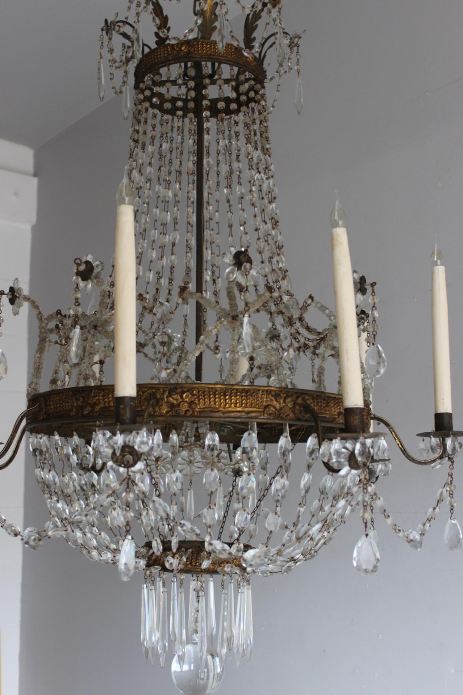 Italian antique chandeliers norfolk decorative antiques italian antique chandeliers image 6 arubaitofo Choice Image