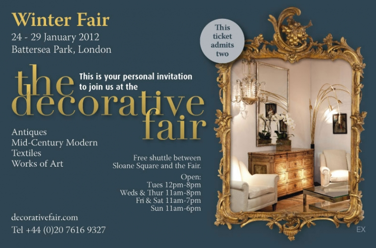 JANUARY DECORATIVE FAIR - Main image