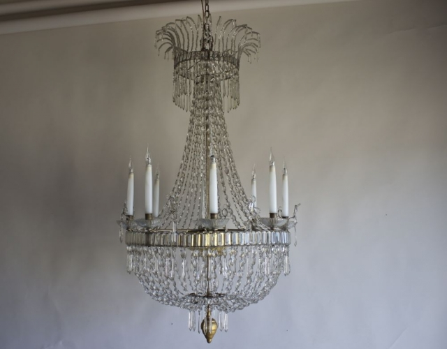 Just added three stunning antique chandeliers - Main image