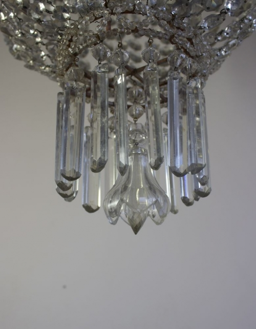 Just added three stunning antique chandeliers - image 4