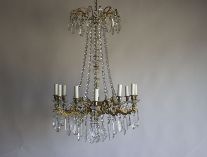Just added three stunning antique chandeliers - image 5