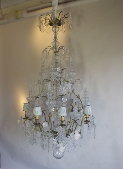 Large Antique Chandeliers - part of our Antique Lighting Range - Main image