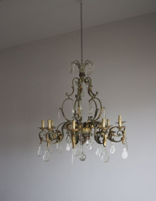 Large Antique Chandeliers - part of our Antique Lighting Range - image 2