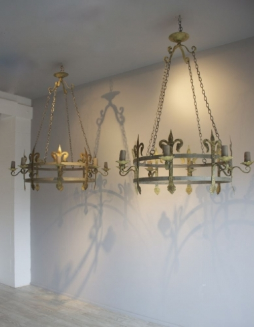 Large Antique Chandeliers - part of our Antique Lighting Range - image 3